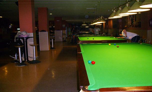 Club Billar Fuengirola - Instalaciones